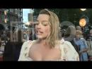 Интервью для «ITN» на премьере фильма «Прощай, Кристофер Робин» в Лондоне 20.09.2017