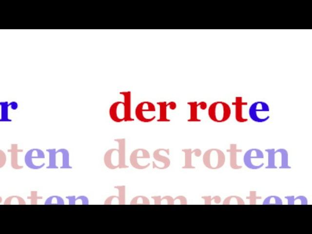 Немецкий для начинающих Урок 11