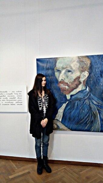 Агата Гётте: На выставке Ван Гога