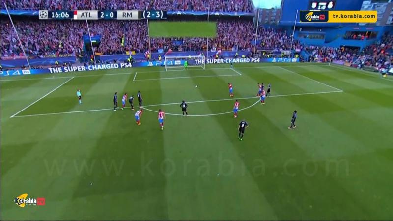 أهداف مباراة الديربي اتلتيكو مدريد 2 1 ريال مدريد اياب نصف نهائي دوري ابطال اوروبا تعليق علي سعيد الكعبي