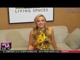 25 сентября 2017  Натали Элин Линд за кулисами утреннего ток-шоу Good Day LA