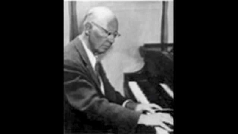 Egon Petri plays Liszt Sonetta del Petrarca, op. 104 in Basel, 1959