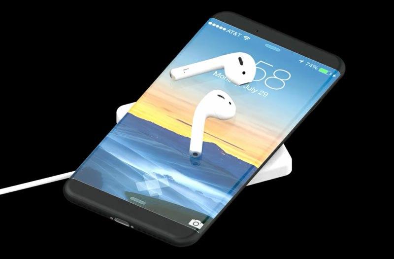 Беспроводная зарядка в iPhone 8 не будет работать на момент релиза, придется дож...