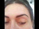 Этапы проведения процедуры перманентного макияжа бровей: ✔1. Бровки ДО ✔2. Отрисовка эскиза ✔3. Брови сразу после процедуры Заж
