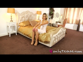 Candice collyer sexy blonde pantyhose
