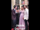 Jamie and Amelia interview at the Oscars Opening Ceremony