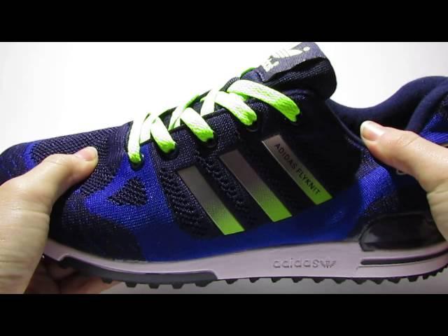 Обзор мужских кроссовок Adidas Flyknit ZX 750