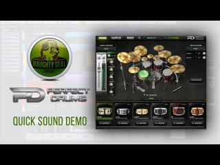 Naughty Seal Audio PERFECT DRUMS // Sound Demo & my preset   Develop Device