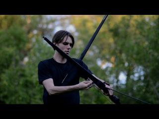 "Archery/ Bows ""Fletcher"" 40 lb/ shoting my own bow 2017"