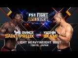 Fight Night Japan Ovince Saint Preux vs Yushin Okami