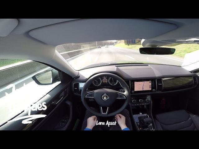 Skoda Kodiaq Style 2.0TDI 4x4 190hp POV Test Drive
