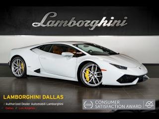 2015 Lamborghini Huracan LP 610-4 Bianco Icarus L0907