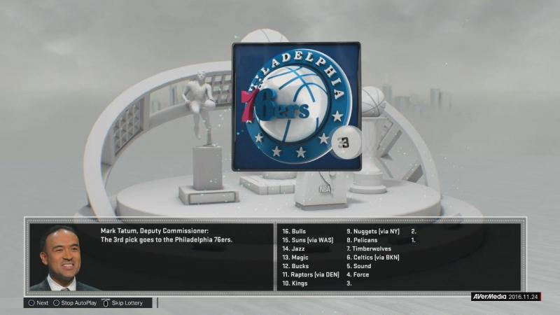 NBA 2K17 PS4 - MyGM Expansion - 1 - St. Louis Sound