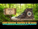 Смешные хомяки Хомяки в лесу Funny hamsters Hamsters in the woods