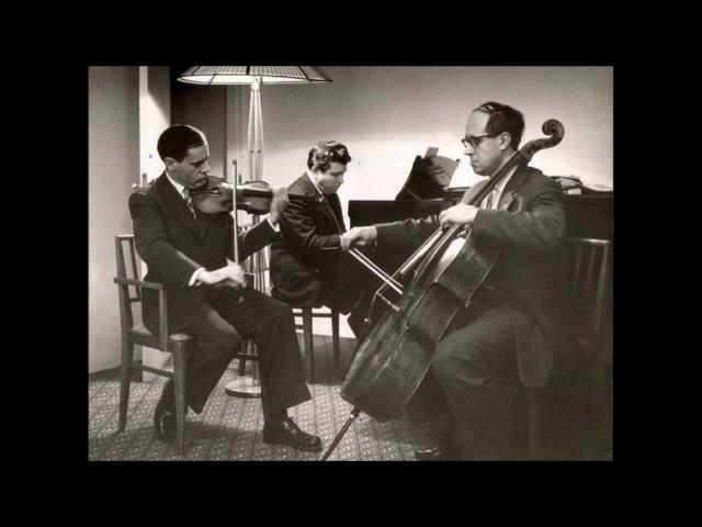 Beethoven Piano trio op 97 Kogan Rostropovich Gilels