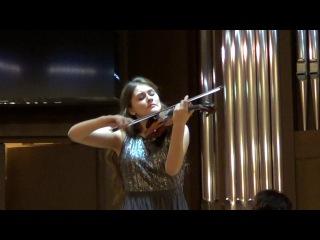Цуварёва Мария. Крейслер - Прекрасный розмарин. Брамс - Венгерский танец. Скрипка