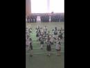 Строевой смотр 23.02.2017.Воспитанницы танцуют полонез.И здесь я!