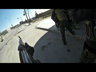 Syria War - HD POV GoPro Of Western Volunteers & Kurdish YPG Combat Syrian Regime Forces In Qamishlo