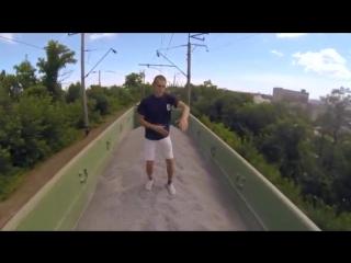 Подборка реально страшных и отмороженных трюков на высоте!Жизнь в Кайф - YouTube