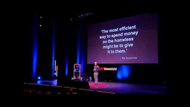 Why we should give everyone a basic income   Rutger Bregman   TEDxMaastricht