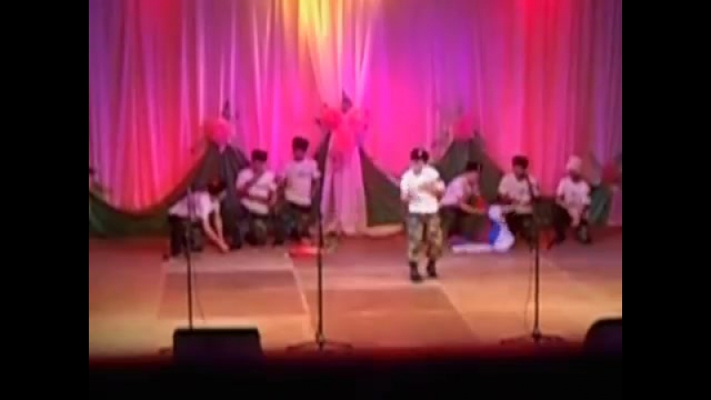 Выступление КМД БСХТ Феникс на торжественных проводах в армию призывников