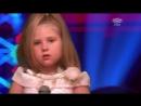 = АРИША =голос дети = ГЕРМАНИЯ = .Девочка из России заставила стоя аплодировать жури и зрителей .