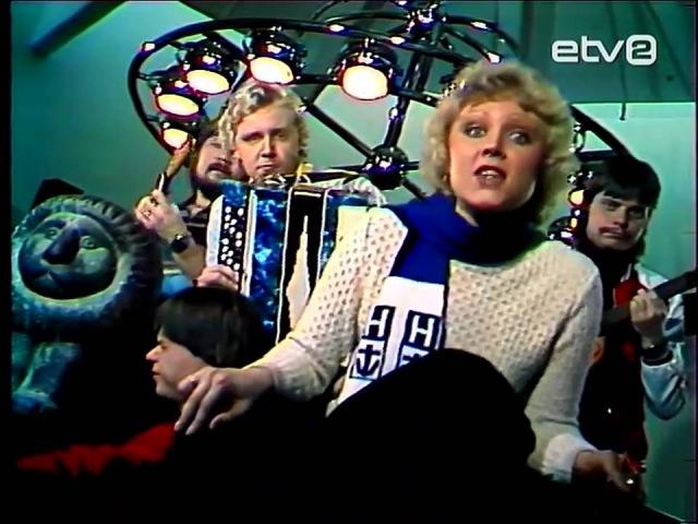 Anne Veski Muusik Seif Maailm pöörleb Анне Вески и Мюзик Сейф Кружится Мир 1982