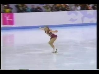 Tonya harding (usa) 1994 lillehammer, figure skating, ladies free skate, 1st