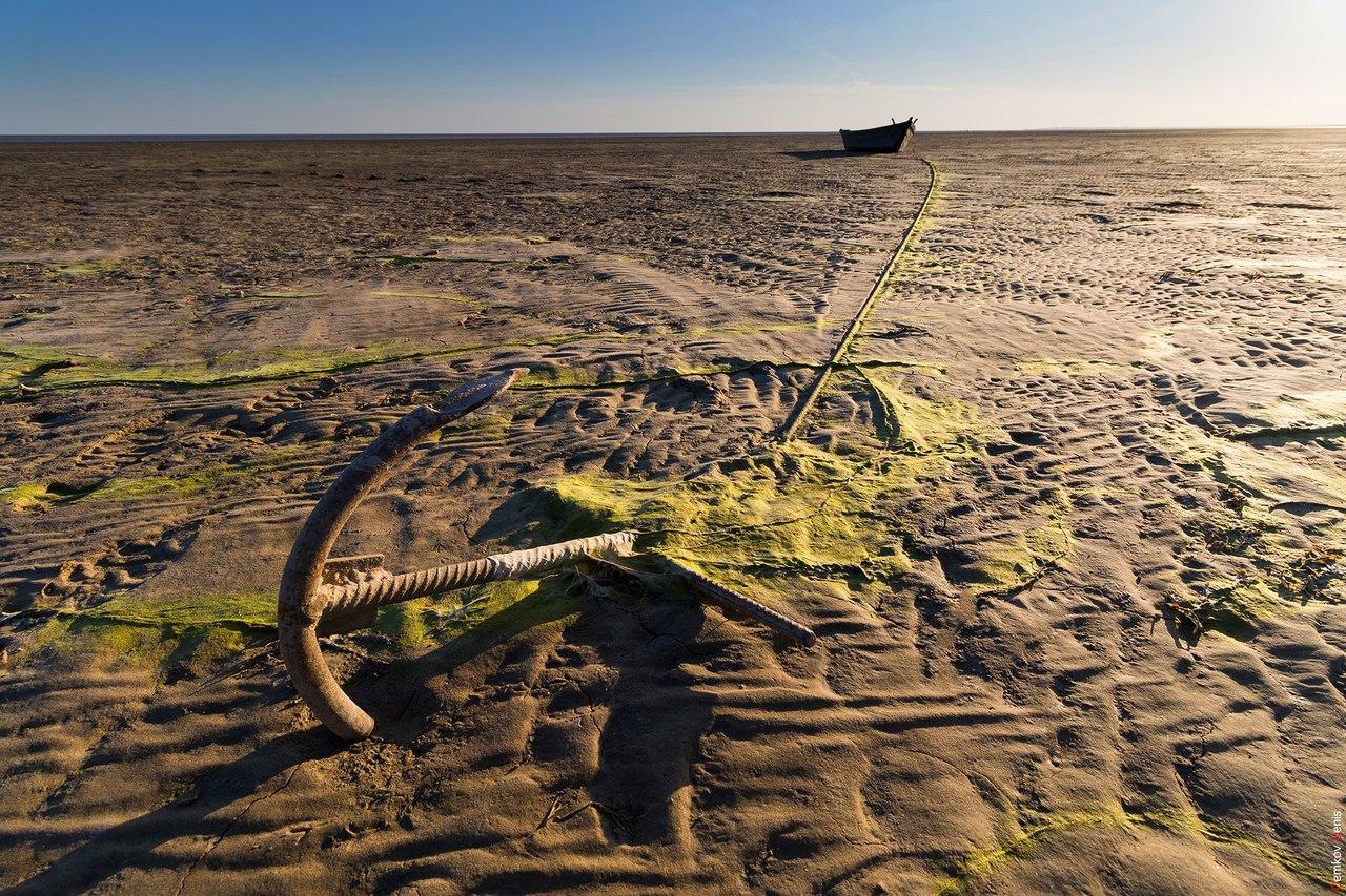 Сильный ветер «опустошил» Таганрогский залив и реку Дон, создав пробку из нескольких десятков судов