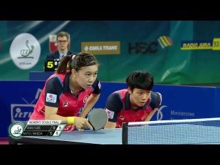 2017 Polish Open (WD-F) LEE Ho Ching/DOO Hoi Kem - MAEDA Miyu/KATO Miyu [Full/English|HD]