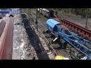 Строительство путепровода в Дебальцево