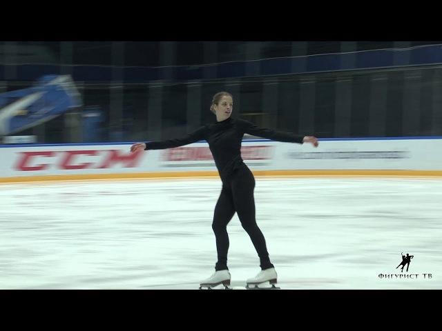 Каролина Костнер на показательных Кубка Мишина 2018 EX1