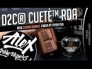 D2C® CUETÉ™ RDA New Casino Bronze Finish l by Hyon USA l Alex VapersMD review 🚭🔞