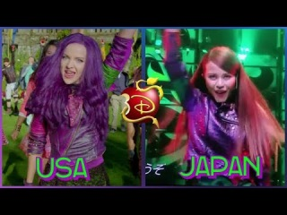 Descendants 2 (Descendientes 2) | USA VS JAPAN (Dance Battle)