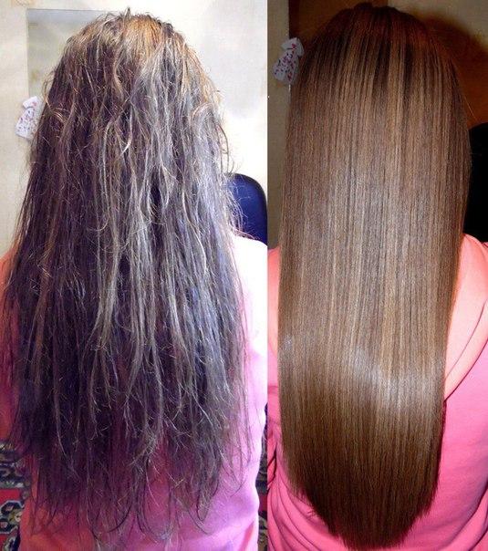 Перманентное выпрямление волос купить