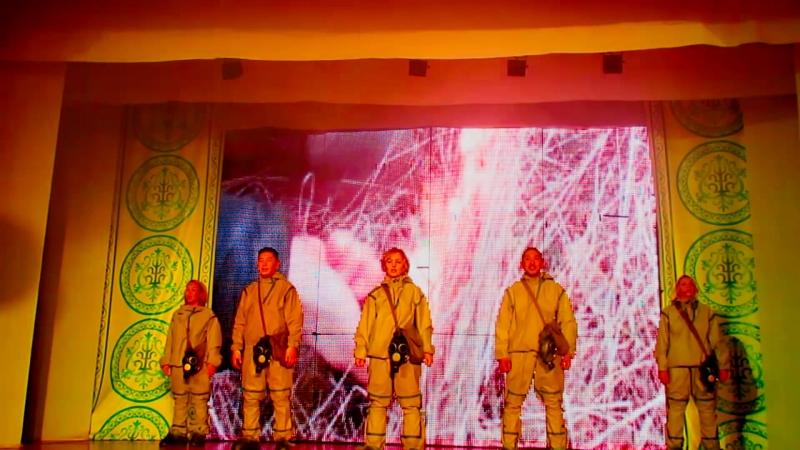 Лариса Филиппова Лория и звёзды хангаласской эстрады в Октёмцах с экологической песней 17 02 2018
