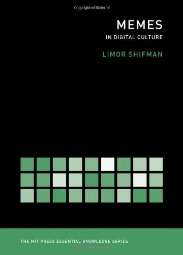 (MIT press essential knowledge) Shifman, Limor-Memes in Digital Culture-The MIT Press (2014)