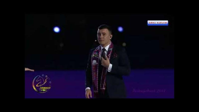 ASHGABAT 2017 Ýapylyş dabarasy konsert Farhat we Şirin Özbek ýyldyzlary