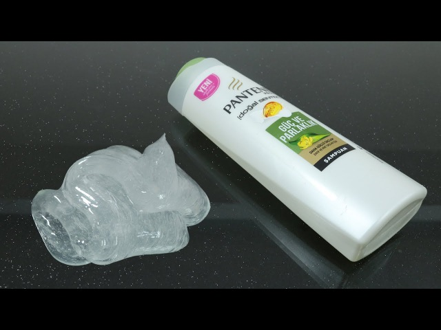 No Glue Clear Slime with Shampoo and Sugar How to make Clear Slime only 2 Ingridients No Borax