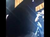 Бергюзар на концерте Таркана