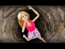 Барби упала в Страшный Колодец и плачет Мультик Маша и Медведь Мама Барби и Кен