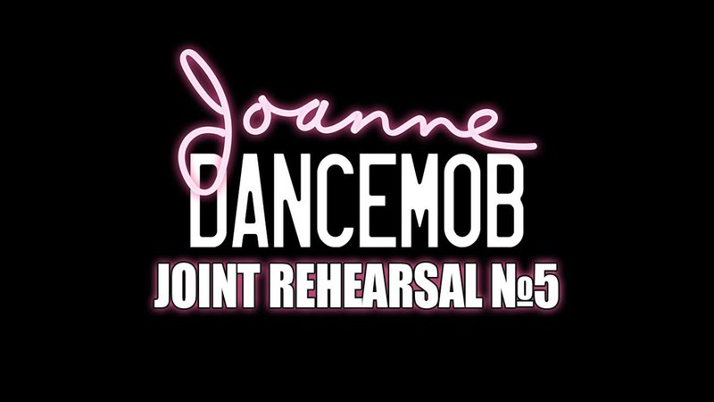 JOANNE DANCEMOB Joint rehearsal №5