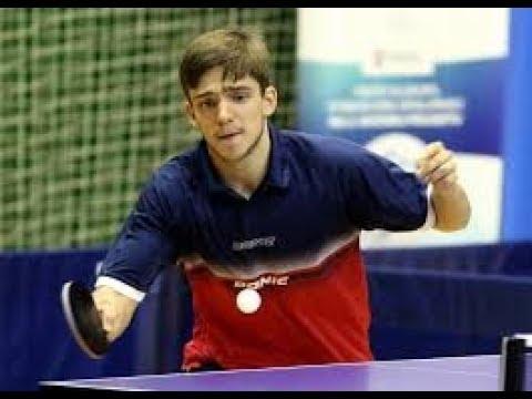卓球 Gerassimenko Kirill vs Kallberg Anton German League 2018 Table Tennis