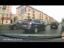 Момент аварии на пр. Карла Маркса 20.09.2017
