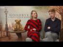 Интервью для «BBC London» в рамках промоушена фильма «Прощай, Кристофер Робин» 20.09.17