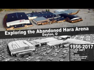 Exploring Hara Arena in Trotwood  Everything Left!  Abandoned Ohio