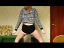 Студентка Лизочка трясет попкой на камеру 720p hd секси попа попка попочка девочка молоденька порно вебкам голая