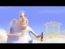 Смешной короткометражный мультик про ангела и чертёнка.
