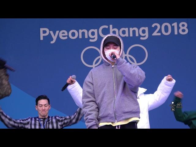 180219 평창올림픽 헤드라이너쇼 180219 2PM 리허설HeartBeat