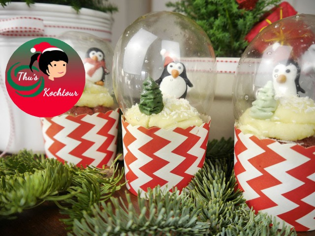 ENG SUB Snow Globe Cupcake Schneekugel Cupcake